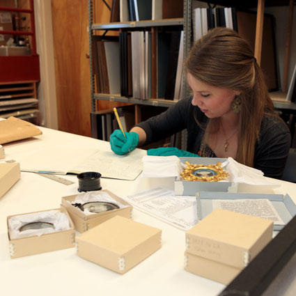 UVM student catalogs collection objects.