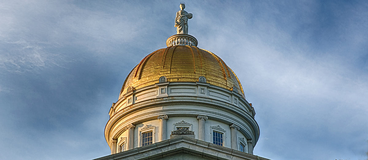 Montpelier Statehouse Dome