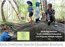 Early Childhood Special Education Brochure 2017
