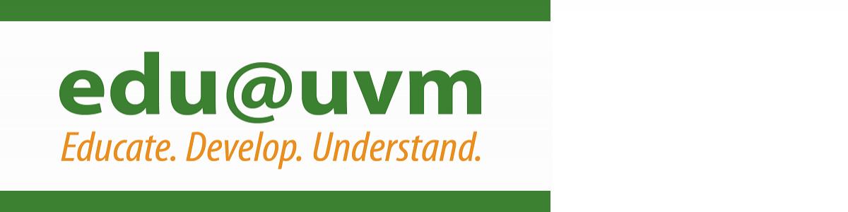edu@uvm logo