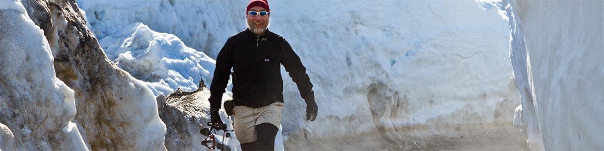Paul Bierman in Greenland