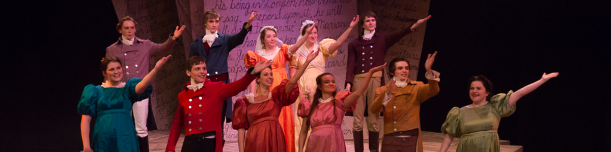 UVM Theatre presents Sense and Sensibility