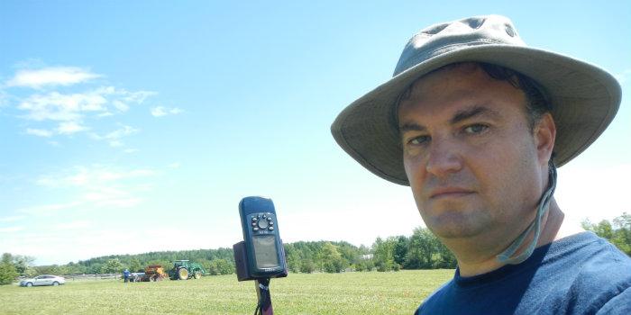 Pasture Technical Coordinator Juan Alvez