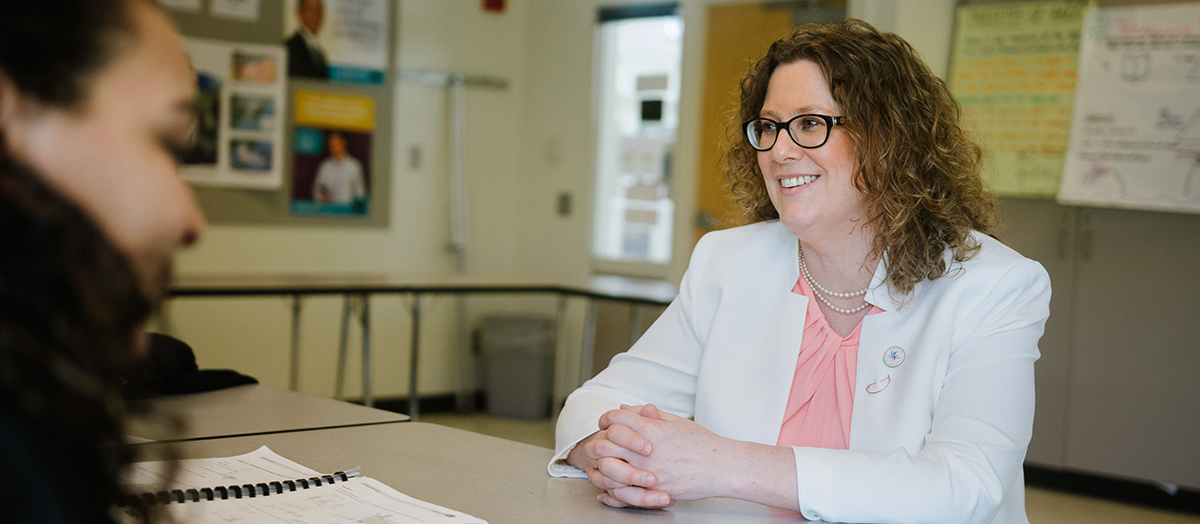 Kate McCann '96 G'98, Vermont's 2017 Teacher of the Year