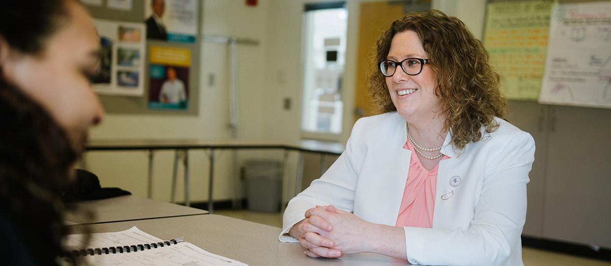 Kate McCann '96 G'98, Vermont's 2017 Teacher of the Year