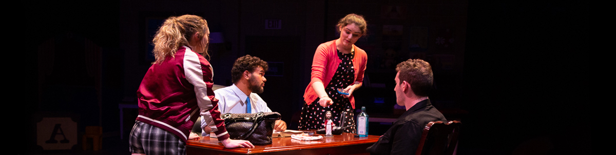 UVM Theatre presents Hand to God Fall 2018