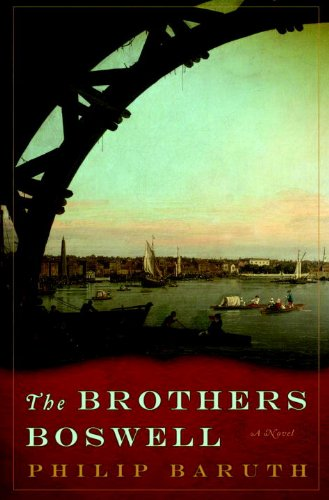 cover of The Brothers Boswell by Philip Baruth