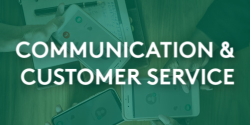 Communications & Customer Service