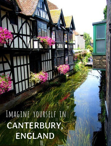 English row houses - Imagine Yourself in Canterbury