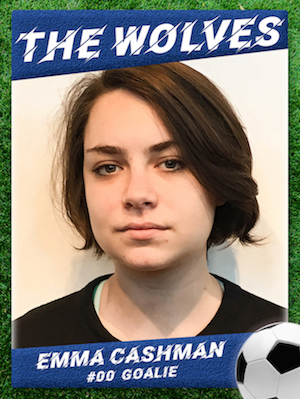 Emma Cashman in The Wolves