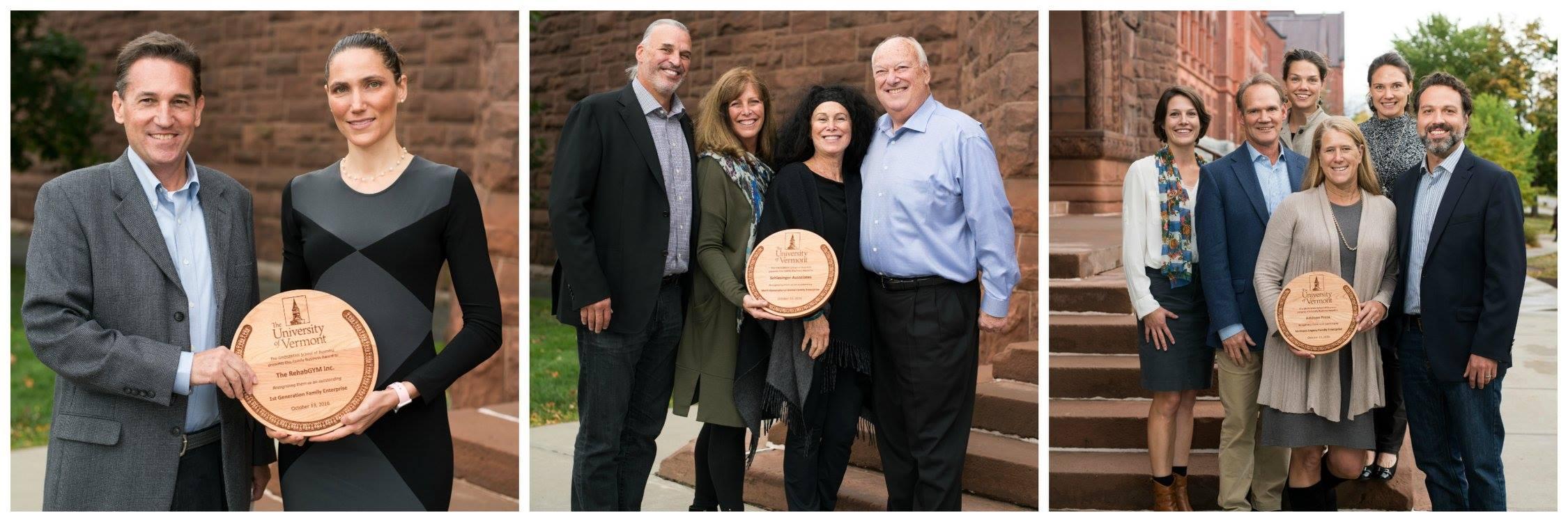 Family business awards grossman school of business the for Schlesinger associates