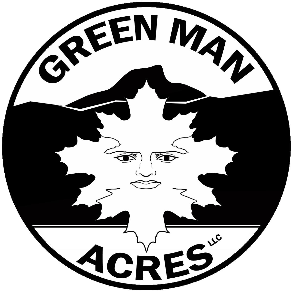 Green Man Acres Logo