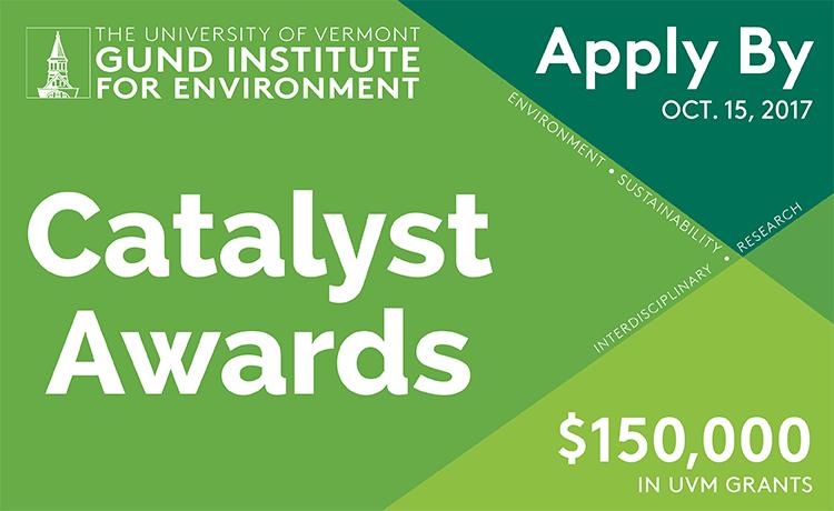 Catalyst Awards - Apply by Oct. 15, 2017