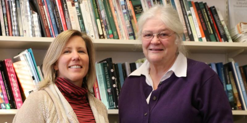 Cheryl Morse and Prudence Doherty