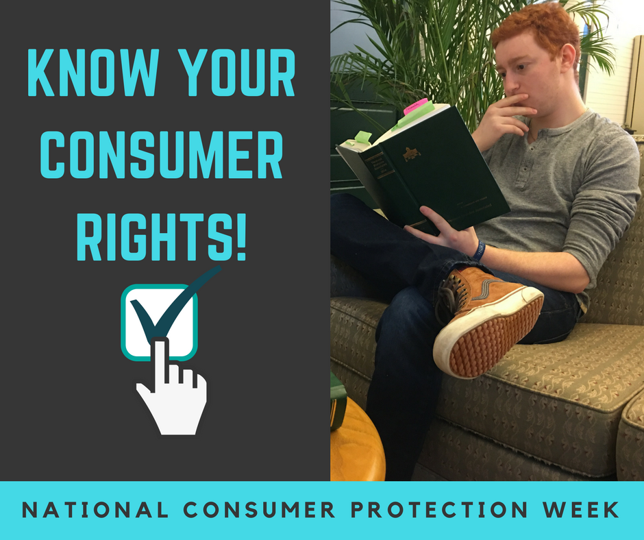 National Consumer Protection Week - Learn your rights