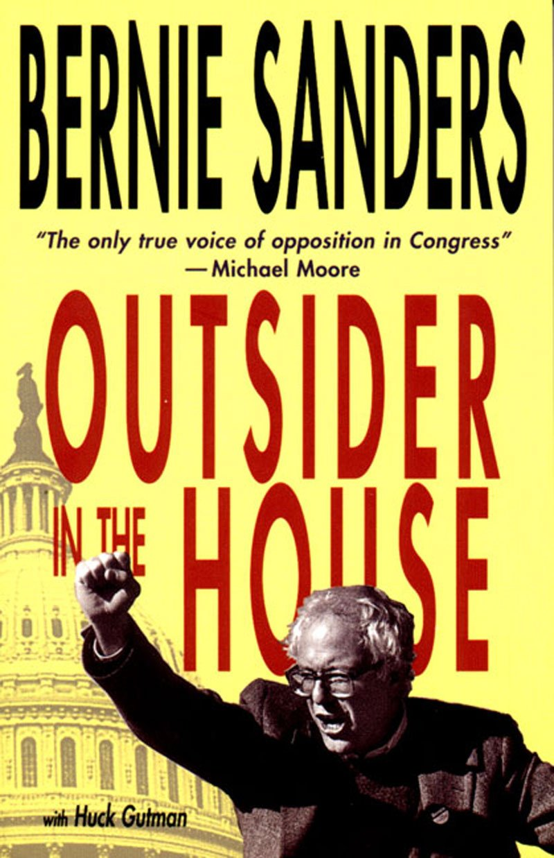 cover of Outsider in the House by Bernie Sanders and Huck Gutman