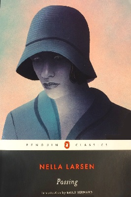 cover of Passing by Nella Larsen, introduction by Emily Bernard