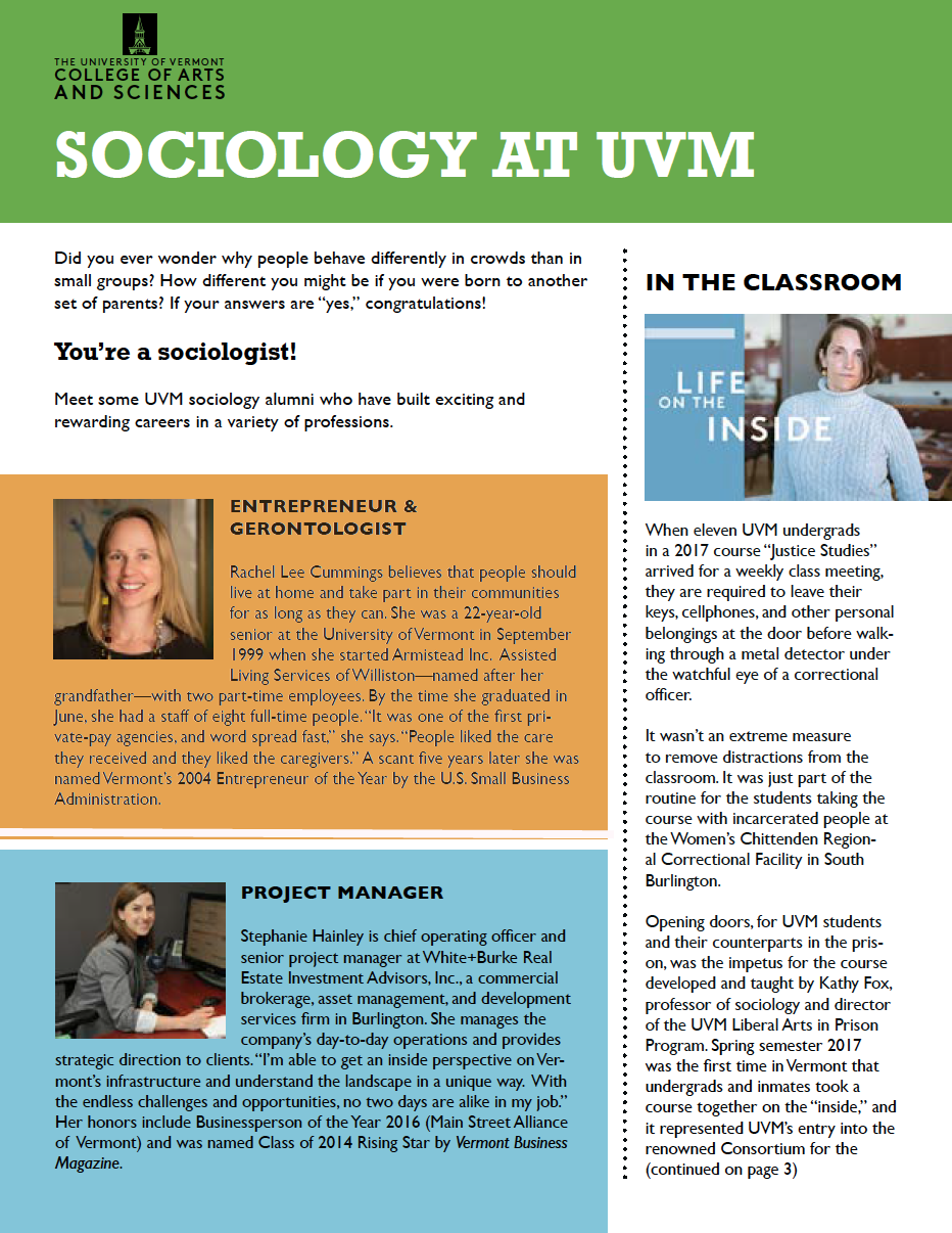sociology newsletter