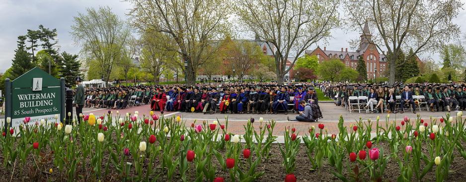 Graduation at UVM
