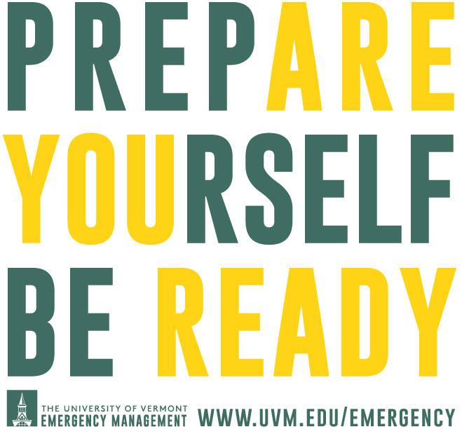 Prepare Yourself, Be Ready graphic