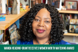 Wanda Heading-Grant: Receives Women Worth Watching Award