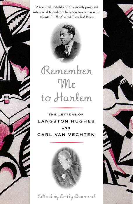 cover of Remember Me to Harlem: The Letters of Langston Hughes and Carl Van Vechten (1925-1964) by Emily Bernard