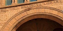 Billings - front of building
