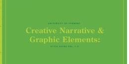 Creative Narrative & Graphic Elements