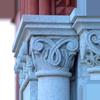 columns on Williams Hall