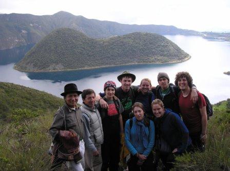 Stuart White's Politics of Land Use class in Ecuador