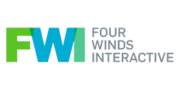 The FourWinds Interactive logo that says Four Winds Interactive