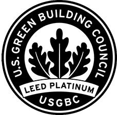 Leed Platinum seal