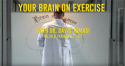 Main title example from Your Brain on Exercise video