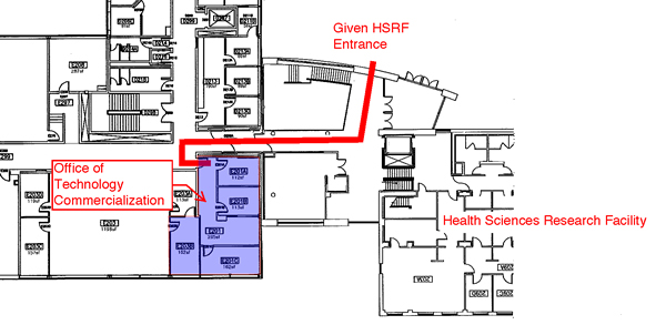 Map of Given building