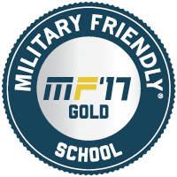Military Friendly School MF'17 Gold
