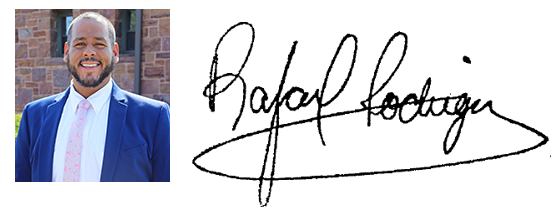 Rafael Rodriguez and signature