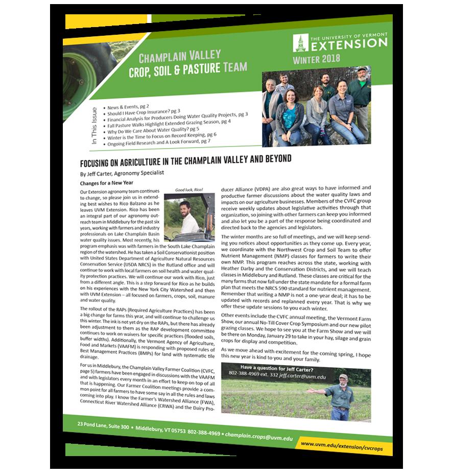 Quarterly Report Cover
