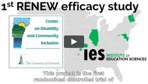 1st RENEW efficacy study