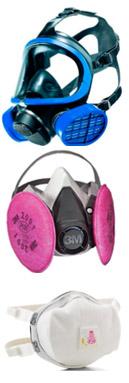 Varitey of respirators