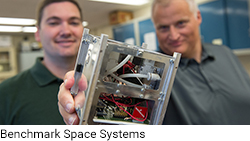 Ryan McDevitt and Darren Hitt of Benchmark Space Systems