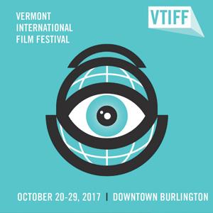VTIFF poster, event held in Burlington, October 2017