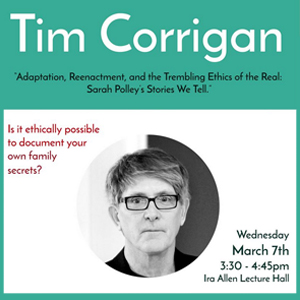 Tim Corrigan publicity poster