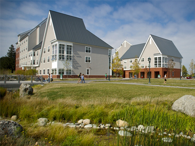 UVM University Heights North Complex with Green Field
