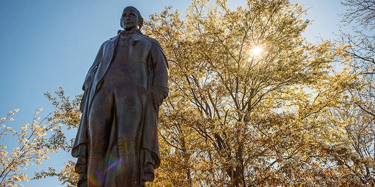 statue of Ira Allen