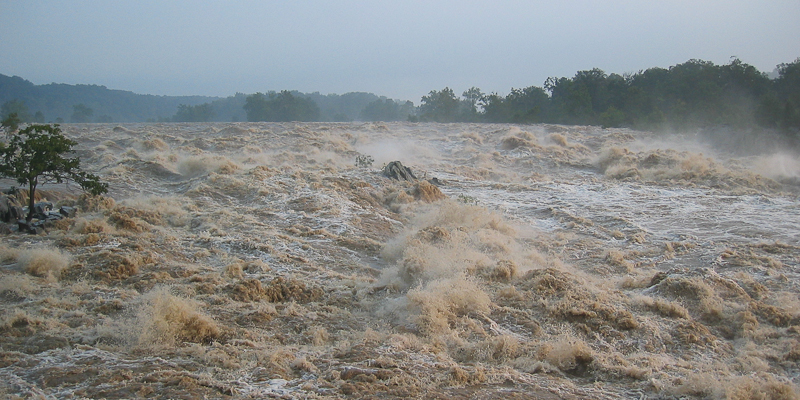 Potomac river flooding