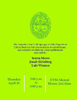 Book reception invitation