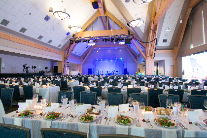 The Grand Maple Ballroom at the Dudley H Davis Center at UVM