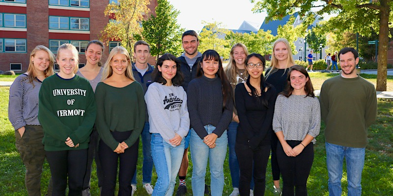 Students in the Education for Cultural and Linguistic Diversity minor at UVM