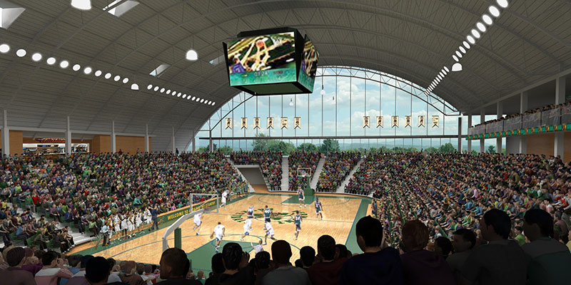 New events center rendering