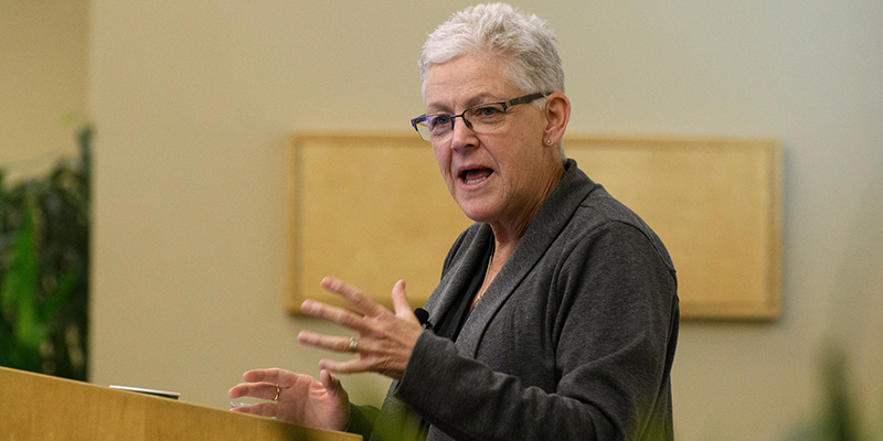 Gina McCarthy at UVM